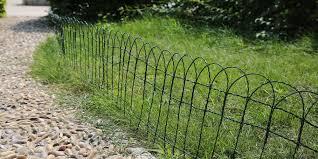 garden border fence used as garden