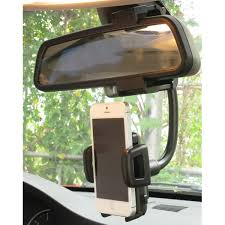 Universal 360° <b>Car</b> Mount Holder <b>Phone Stand Rear</b>-view Mirror ...