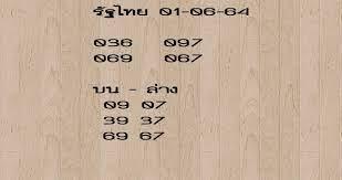 เลขเด็ด คำชะโนด งวด1/6/64 – news152media.com