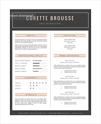 Art Resume Template Stunning 28 Artist Resume Examples PDF DOC Free Premium Templates