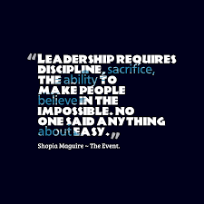 Shopia Maguire Quote About Leadership