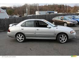 2004 Molten Silver Nissan Sentra SE-R Spec V #22671891 Photo #4 ...