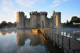bodiam castle in sus england