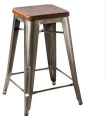 Nice Rustic Industrial Bar Stools and Hooligan Counter Stool Steel Rustic  Wood