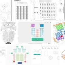 Ford Center Evansville Seating Chart With Seat Numbers Seating Chart Jiniprut On Pinterest