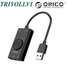 <b>Orico</b> SC2 <b>Multifunction USB</b> External Sound Card - (<b>SC2</b>-<b>BK</b> ...