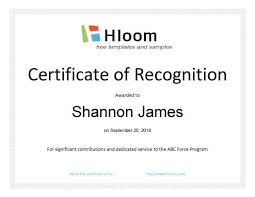 free recognition certificates 27 printable award certificates achievement merit honor
