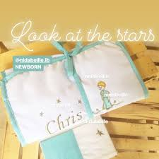 sweet dreams baby chris bed set le petit prince write it on fabric by