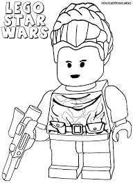 Lego Star Wars Coloring Pages Coloringrocks