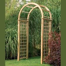 Small Picture opulent design ideas garden arch with gate simple garden wooden