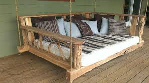 porch swing bed refurbished ideas for futon patio plans 5
