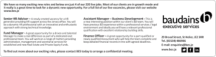 Interesting Jobs List News Baudains Executive Services