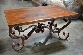 Porfirio Coffee Table. Featuring a wrought iron coffee table base ...
