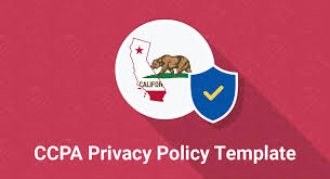 Ccpa Privacy Policy Template Termsfeed