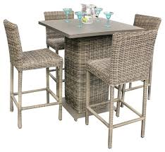 interior outdoor pub table with bar stools 5 piece set tropical intended for 3 setting royal bate st 3 piece round bar set outdoor table counter tables
