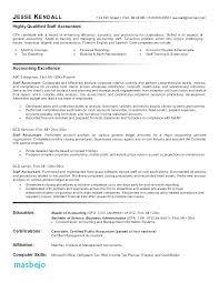 Samples Of Accounting Resumes Cocinacolibri Com