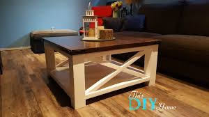 Chunky Leg Coffee Table