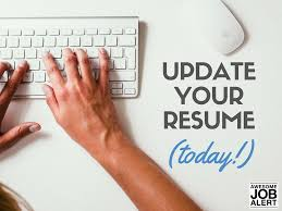quick tips for updating your résumé today awesome job alert