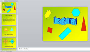 Lines Of Symmetry Powerpoint Free Lines Of Symmetry Powerpoint Presentation Math Math