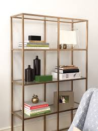 office book shelf. Bookcases:Beautiful Metal Bookcase Ikea Steel Frame Material Clear Glass Shelf 4 Storage Gold Office Book