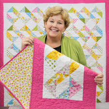 Ribbon Dance Quilt Tutorial & Jenny found another way to show off some HST! Adamdwight.com