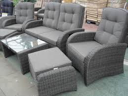 Grey Rattan Garden Furniture Sale