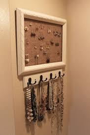 Jewelry Organizer Diy 158 Best Diy Jewelry Holder Images On Pinterest