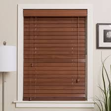 Arlo Blinds Customized 29-inch Real Wood Window Blinds - Free ...