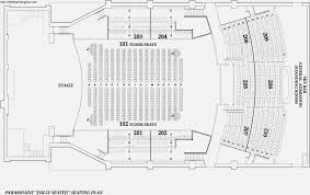 His Theatre Paramount Theatre Oakland 3d Seating Chart