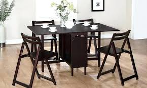 folding dining table and chair sets post folding dining table and chairs set white
