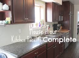 Kitchen Facelift House Tour Kitchen Facelift Complete Our Cone Zone