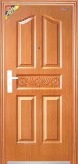 innovative single front door designs wood