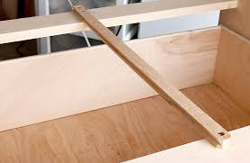 how to install wooden drawer slides