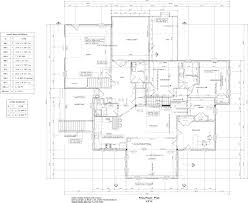 view a sample main floor plan