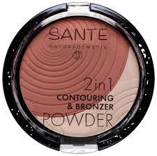 Купить Sante Naturkosmetik Палетка <b>2 в 1 Контуринг и бронзер</b> ...