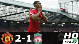 Manchester United Vs Liverpool 2 - 1 Premier League 10/3/2018 - YouTube