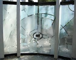 glass doors all glass frameless etched glass doors modern style