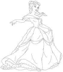 Coloring Pages Free Printable Disney Princess For Kids Fabulous