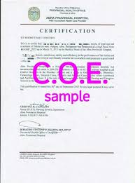 Employment Certificate Letter My College Scout