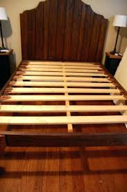 Wood Slat Bed Frame Bed Frame With Slats Wooden Slat Bed Frame King ...