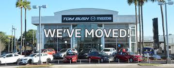 new and used mazda dealership in jacksonville tom bush mazda near gainesville brunswick ga and riverside fl