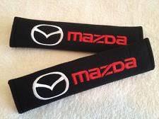 Mazda Seat Belt Cover Shoulder Pads <b>Mazda2 Mazda3 Mazda5</b>