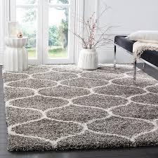 gray shag rug display furniture image rugs usa hobo shaggy rug
