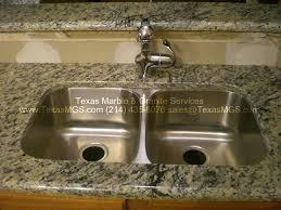 dupont edge custom island 50 50 undermount sink stainless cedar hill texas