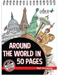 Small Picture 16 Great Map Geography City Travel Adult Coloring Books