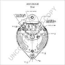 leece neville amp alternator wiring diagram leece a0012826jb alternator product details prestolite leece neville on leece neville 160 amp alternator wiring diagram