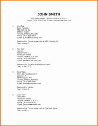 10 Listing References On A Resume How To Make A Cv