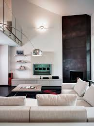architecture modern living room design ideas with corner fireplace and tv wall units astounding