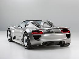 all bout cars porche 918 the 918 spyder is a mid engined two seater sports car designed by michael mauer that is powered by a 4 6 liter v8 engine 580 hp 430 kw which is a