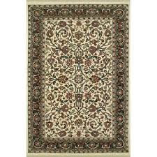 alluring 4 x 12 runner rug american home rug co american home classic kashan ivorygreen
